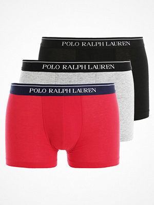Kalsonger - Polo Ralph Lauren 3 PACK Underkläder grey heather/red/black