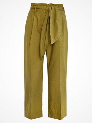 J.Crew GRAMSEY Tygbyxor burnished moss omönstrade