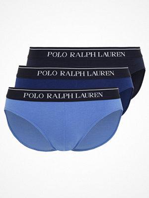 Polo Ralph Lauren LOW RISE BRIEFS 3 PACK Underkläder blue denim tone