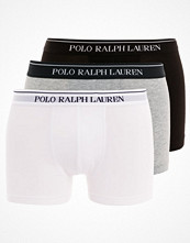 Kalsonger - Polo Ralph Lauren 3 PACK Underkläder white/heather/black