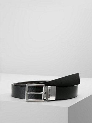 Calvin Klein ANDREW  Skärp black/espress