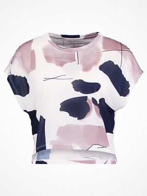 Native Youth Tshirt med tryck white/pink