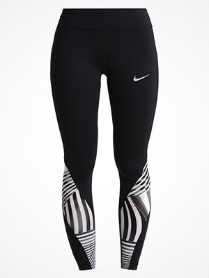 Sportkläder - Nike Performance POWER EPIC LUX  Tights black/reflective silver