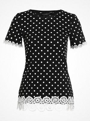 Dorothy Perkins POLKA DOT  Tshirt med tryck black