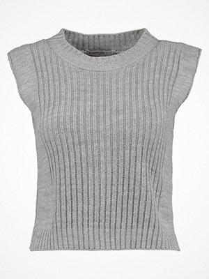 Glamorous Petite CROP Tshirt bas grey marl