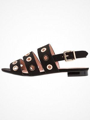 Topshop HONEYMOON RIVET   Sandaler & sandaletter black