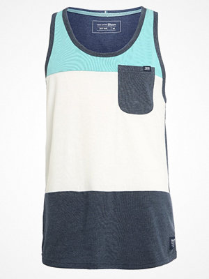 Linnen - Tom Tailor Denim UNI SLEEVELESS ROUNDNECK Linne black iris blue