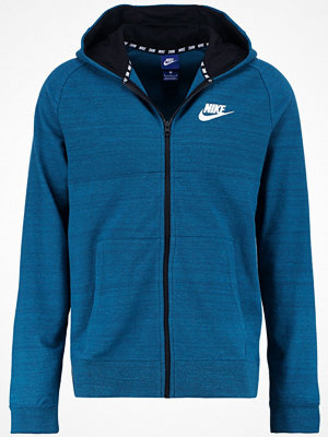 Street & luvtröjor - Nike Sportswear Sweatshirt space blue/heather/black/white