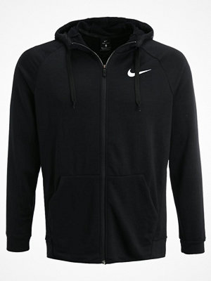 Nike Performance DRY FULL ZIP HOODIE Sweatshirt black/white