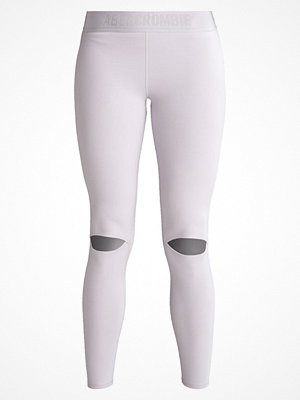 Abercrombie & Fitch ACTIVE COLD KNEES Leggings dark grey flat