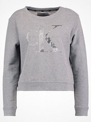 Tröjor - Calvin Klein Jeans HARPER TRUE ICON Sweatshirt mid grey heat