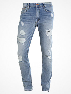 Jeans - Calvin Klein Jeans SKINNY  Jeans slim fit cracle blue