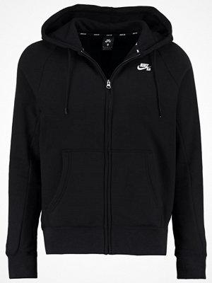 Street & luvtröjor - Nike Sb ICON Sweatshirt black/white