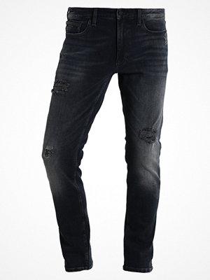 Jeans - Calvin Klein Jeans SKINNY  Jeans slim fit mason blue denim