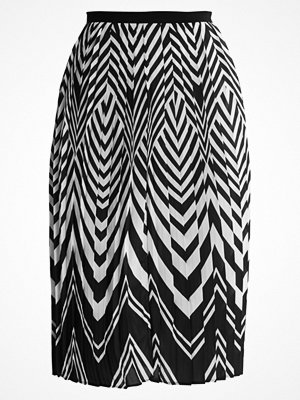 Anna Field Veckad kjol black/white