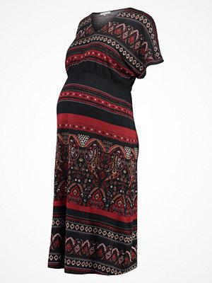 Anna Field MAMA Jerseyklänning red/black
