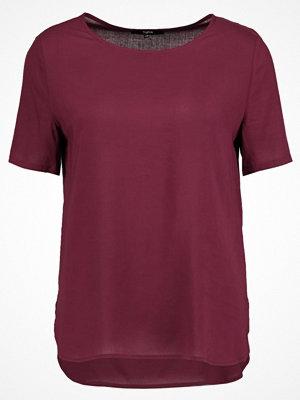 Tigha EDINE Tshirt bas red plum