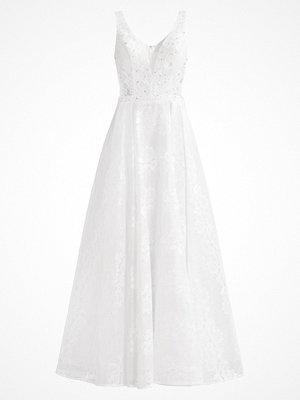 Unique Festklänning cream white