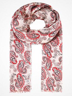 Halsdukar & scarves - Becksöndergaard HEEIA Halsduk nutmeg white