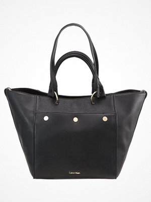 Calvin Klein svart shopper Shoppingväska black