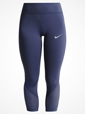 Sportkläder - Nike Performance POWER EPIC LUX Tights thunder blue/reflective silver