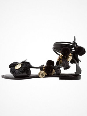 Sandaler & sandaletter - Topshop HONEY COIN  Sandaler & sandaletter black