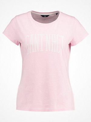 Gant Tshirt med tryck california pink