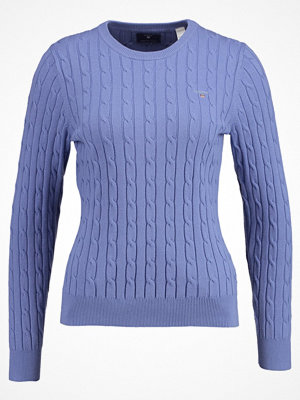 Gant Stickad tröja nightfall blue