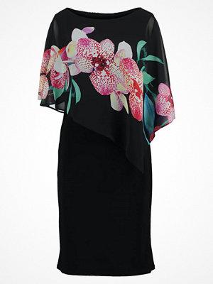 Wallis DOTTY ORCHID  Jerseyklänning black