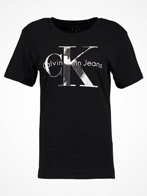 Calvin Klein Jeans TANYA Tshirt med tryck black