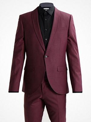 Kavajer & kostymer - Noose & Monkey ELLROY SKINNY FIT Kostym wine