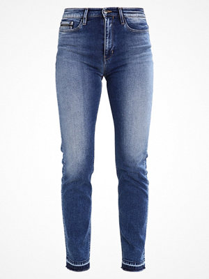 Calvin Klein Jeans HIGH RISE STRAIGHT ANKLE Jeans straight leg waterfall