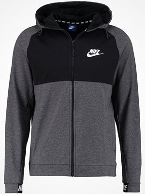 Street & luvtröjor - Nike Sportswear Sweatshirt charcoal heather/black/white