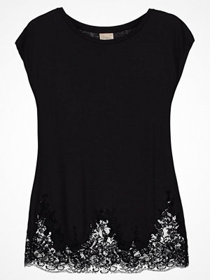 T-shirts - Selected Femme SFDINELLA Tshirt med tryck black