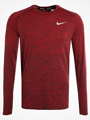 Sportkläder - Nike Performance DRIFIT Tshirt långärmad university red/port wine/reflective silver
