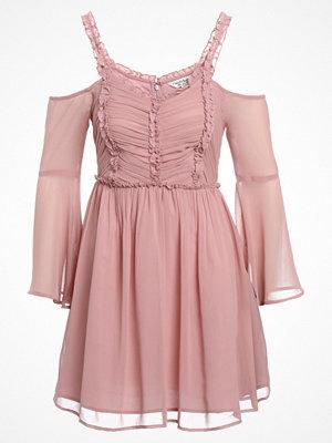 Miss Selfridge PLEAT RUFFLE  Sommarklänning pink