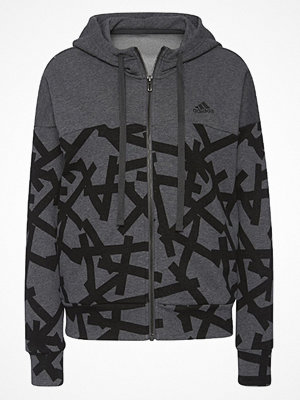 Adidas Performance ESSENTIALS  Sweatshirt dark grey heather
