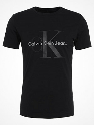Calvin Klein Jeans TICUS TRUE ICON SLIM Tshirt med tryck black