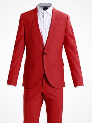 Kavajer & kostymer - Noose & Monkey ELLROY SKINNY FIT Kostym scarlett