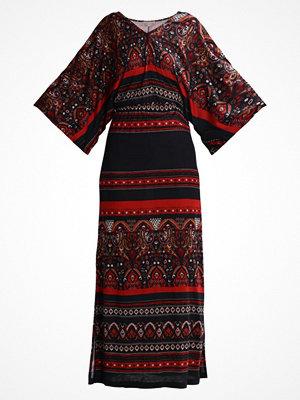 Anna Field Maxiklänning black/red