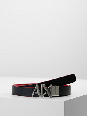 Bälten & skärp - Armani Exchange Skärp royal red/navy