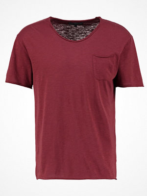 Drykorn TEO Tshirt bas bordeaux