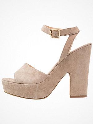 Sandaler & sandaletter - Anna Field Premium Platåsandaletter stone