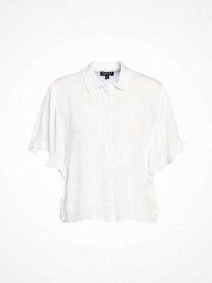 Skjortor - Topshop KATIE FRILL Skjorta ivory