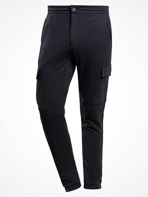 Sportkläder - Michael Kors TERRY Träningsbyxor black