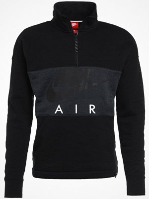 Nike Sportswear AIR HALF ZIP TOP Sweatshirt black/anthracite/black