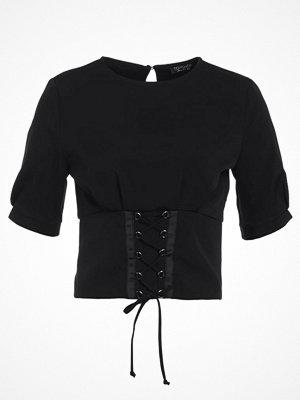 Topshop CORSET Blus black