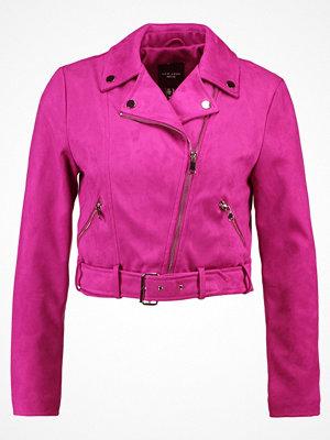 New Look Petite Jacka i konstläder bright pink
