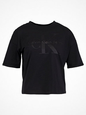 Calvin Klein Jeans TECO Tshirt med tryck ck black