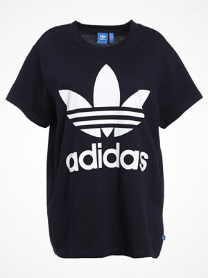 Adidas Originals BIG TREFOIL Tshirt med tryck legink/white